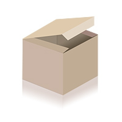 Yoga belt with closure made of two D-rings Made in Germany 2.5 m | aubergine-coloured