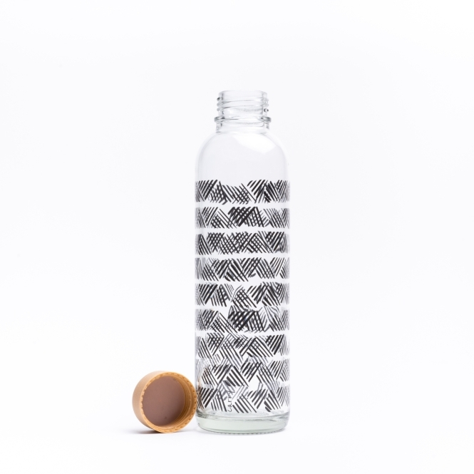 Glass drinking bottle CARRY 0.7 l OFF TRACK