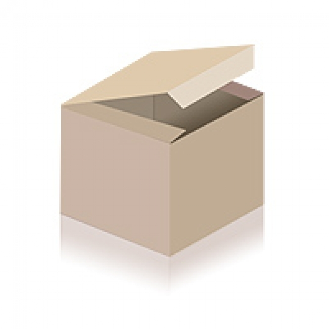 """MAGIC CANDLE white with the golden label """"MANDALA"""" 14 cm"""